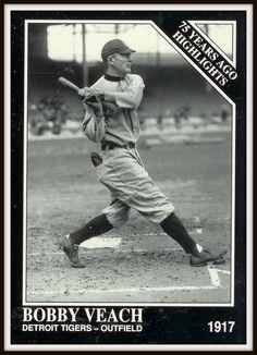 BOBBY VEACH  Sporting News 1992 Conlon Collection #486 Baseball Card - MINT #DetroitTigers