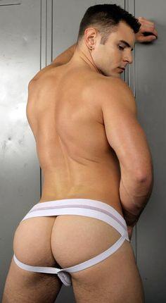Gay stud drills jocks sweets bum