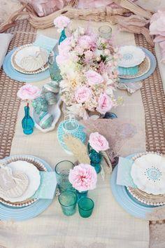 Oahu Beach Inspiration Photo Shoot by La Fleur Weddings + Simply Bloom Photography