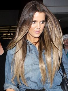 Khloe Kardashian I am shamelessly obsessed with her hair!!!