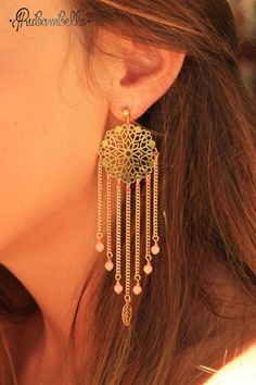 BO Dreamcatcher corail via Rubambelle. Click on the image to see more!