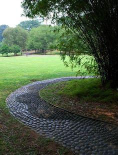 Reflexology Path at Singapore Botanic Gardens