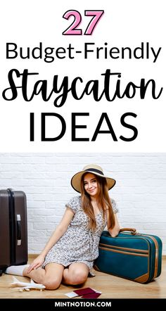 27 budget-friendly staycation ideas for families. Staycation ideas for couples. Staycation ideas for singles. How to go on vacation without leaving home. Save money with these fun at-home travel ideas.