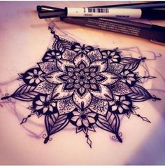 Love this as a sternum tat