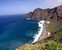 La Gomera - Playa de Hermigua