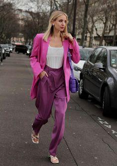 Spring Street Style, Street Style Women, Retro Fashion, Trendy Fashion, Fashion Trends, Fashion Bloggers, Women's Fashion, Winter Fashion Outfits, Stylish Outfits