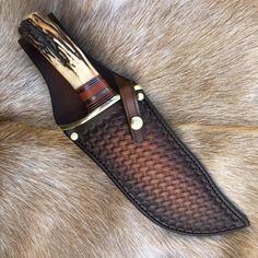 Custom Handmade Knives and Leather Goods Zombie Tools, Best Zombie, Handmade Knives, Leather Working, Basket Weaving