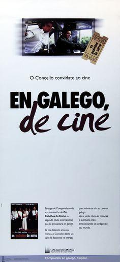 [Departamento de Lingua Galega do Concello de Santiago de Compostela, 1999] Dublin, Nail, Santiago De Compostela, Poster