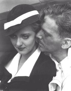 Bette Davis and Douglas Fairbanks Jr.