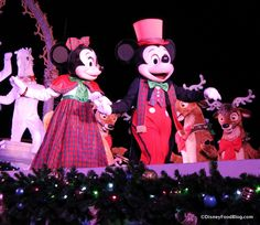 """Celebrate the Season"" with Mickey and Minnie! Special treats and merchandise from the party!!!"