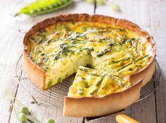 Avec les lectrices reporter de Femme Actuelle, découvrez les recettes de cuisine des internautes : Tarte végétarienne de printemps