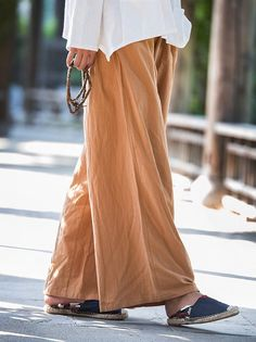 Loose Pure Color Comfortable Linen Pants