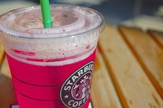 Venti Starbucks Passion Tea Lemonade. 4 pumps classic, 2 pumps raspberry. Try it. It will change your life.