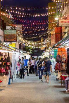 For my next trip to Thailand! Night market, Chiang Rai, Thailand