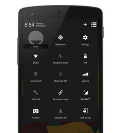 Materialistic Xperia Theme - Sony is yet to release the Lollipop update for the Xperia line. While the materialized look is still unknown, XDA Senior Member sud.vastav shared his vision of the Xperia UI by releasing this CyanogenMod 1