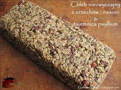 Chleb orzechowo-nasienny - bez mąki, wegański. Nie - nie fasolowy. : Guiltfree, Light & Co.