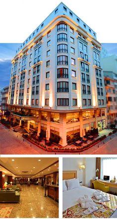 Istanbul Beyoğlu'nda bulunan turistler için seçilebilecek en güzel taksim otelleri arasında yer alan Grand Oztanik Hotel