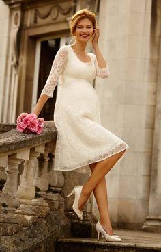 8c104510d Las 15 mejores imágenes de Vestidos de boda para embarazadas-Novias ...