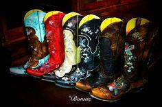 Old Gringo Bonnie Cowboy Boots at RiverTrail in North Carolina.