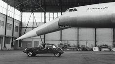 Citroen DS + Concorde