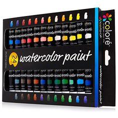 Colore Watercolor Paint Set - Premium Quality Art Paintin...