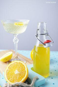 zitrus-ingwer-sirup   citrus ginger sirup (vegan) ❤