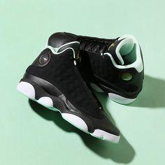 4d5b914f09f5f4 439358-015 Nike Air Jordan 13 Retro GG Black Mint Foam