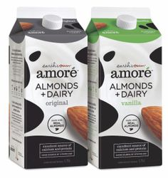 Earth's Own Amoré Almonds + Dairy Milk #Packaging