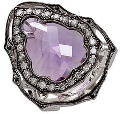Buy Tracey Bregman Amethyst & Diamond Sterling Silver Ring, Tracey Bregman Collectionand Rings from The Shopping Channel, Canada's home shopping network-Online Shopping for Canadians #consciousliving #traceybregmancollection