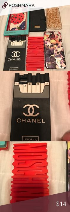IPhone 6 Plus covers 14 each Mosschino, Chanel, kate spade etc. kate spade Accessories Phone Cases