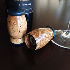 One of a Kind Handcrafted Wood Wine Stoppers – Michael's Woodcraft Wine Bottle Candles, Wine Bottle Stoppers, Wine Tasting Near Me, Wine Cork Art, Wood Turning Projects, Lathe Projects, Wood Projects, Wine Sale, Spanish Wine