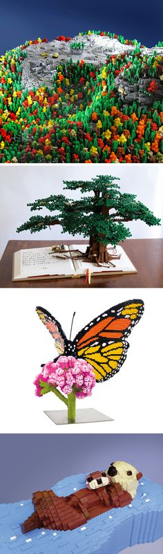 Beautiful LEGO: Wild!, a New Book Exploring Natural Brick Wonders
