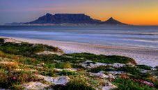 Table mountain across table bay, cape town, south africa. Knysna, Table Mountain Cape Town, Beach Sunset Wallpaper, Alberto Garcia, Safari, Mountain Background, Destinations, Mountain Photos, Cape Town South Africa