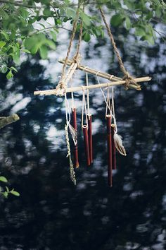 The sound of a wind chime gently swaying in the warm summer breeze brings an instant feeling of calm.