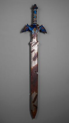 Breath Of The Wild Master Sword. If this is what the sword will look like in the game, it shouldn't be to hard to figure out its placement in the time line.