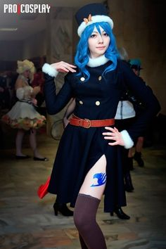 Juvia| Fairy Tail cosplay