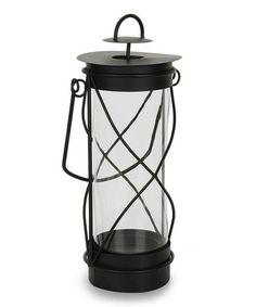 Another great find on #zulily! Black Candle Lantern #zulilyfinds