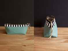 HEIMARBEIT Peppermint Boat Pencil Case