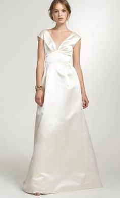 J. Crew Margeaux: buy this dress for a fraction of the salon price on PreOwnedWeddingDresses.com