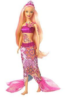 758026ba7 Afbeeldingsresultaat voor barbie mermaid tale doll Barbie Sereia, Presentes  De Natal Para Crianças, A