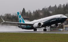 Boeing 737 MAX At The First Flight
