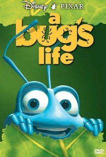 A Bug's Life - Quite possibly my favorite Pixar film, at least one of my favorite movies. Childhood Movies, Pixar Movies, Kid Movies, Family Movies, Great Movies, Disney Movies, Movies To Watch, Animation Movies, Awesome Movies