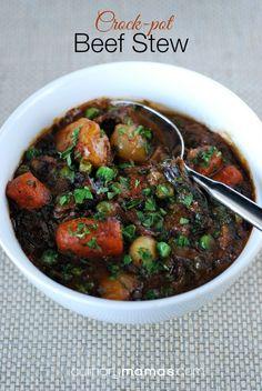 Hearty Beef Stew  |  culinarymamas.com