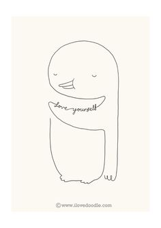 Love Yourself Penguin