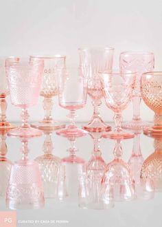 Pink Goblets // Casa de Perrin