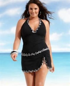 I absolutly love this. Number 1 choice! plus size swimwear - Yahoo Image Search Results