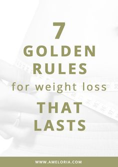 This list of golden rules is action packed with easy principles that can be incorporated into your lifestyle so that you can feel confident in the steps you're taking to become your best self. | Ameloria Wellness