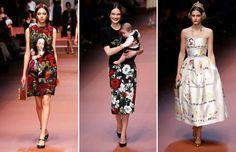 Dolce & Gabbana salutes mothers at Milan Fashion Week - ALESSANDRO BIANCHI/Newscom/Reuters; Luca Bruno/AP Photo; Luca Bruno/AP Photo