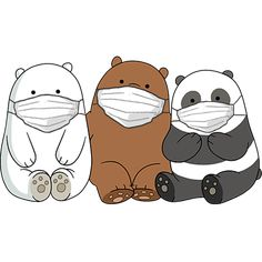 Cute Panda Wallpaper, Cartoon Wallpaper Iphone, Bear Wallpaper, Cute Disney Wallpaper, Kawaii Wallpaper, Wallpaper Backgrounds, We Bare Bears Wallpapers, Panda Wallpapers, Cute Cartoon Wallpapers
