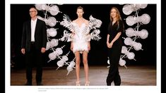 Iris Van Herpen, Anthony Howe, Concept Models Architecture, Paint Fight, 2nd Wedding Dresses, Conceptual Fashion, Origami Fashion, Haute Couture Dresses, Infinity Dress